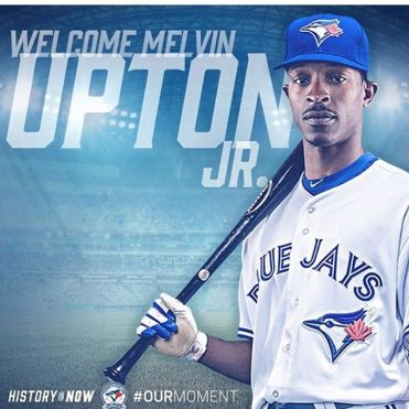Instagram media by treva_666 - Low risk big gain ! Welcome to the squad !!! #bluejays #melvinuptonjr #theshow #toronto