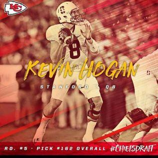 Instagram media by christian_trezvant1987 - 5th Round Pick buy the Kansas City Chiefs Kevin Hogan QB Stanford University. #KevinHogan. #KansasCityChiefs. #Chiefskingdom. #NFLDraft. #ChiTownIsDraftTown.