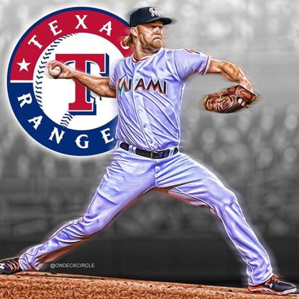 Instagram media by ondeckcircle - The Rangers have agreed to a one-year, $10 million deal with Andrew Cashner. #andrewcashner #texasrangers #rangers #gorangers #mlb #baseball #mlbbaseball #mlboffseason #mlbhotstove