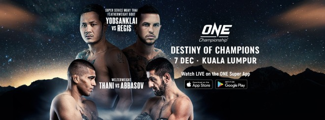 Combat Sports: ONE: Destiny of Champions Event Results